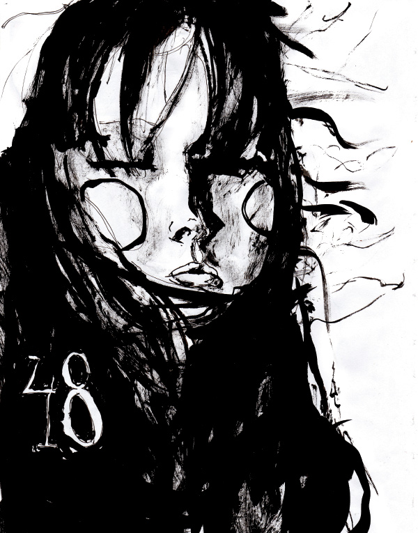 The 48 the drawing from Danny Roberts Character Sketchbook Drawing of model lily cole