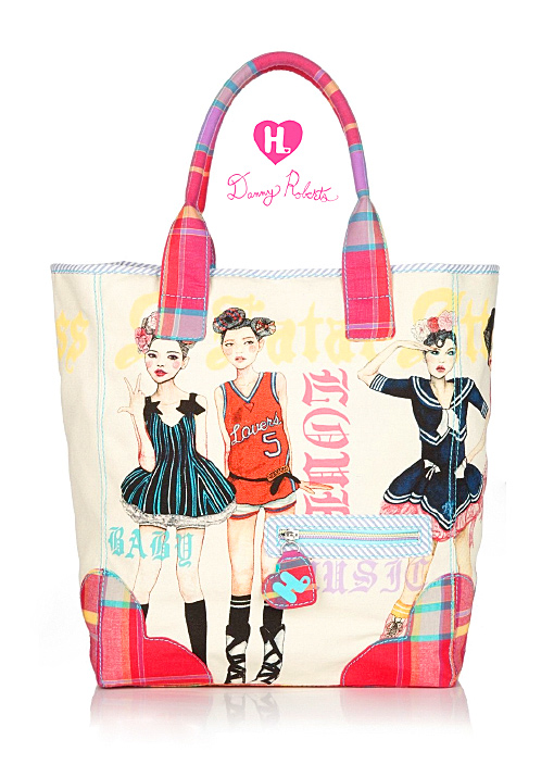 Fashion Artist Danny Roberts second Collaboration Gwen Stefani's Harajuku Lovers