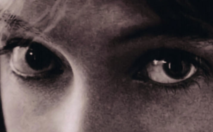 inspiration Friday sepia picture of A Close up of silent film Actress Lillian Gish eyes