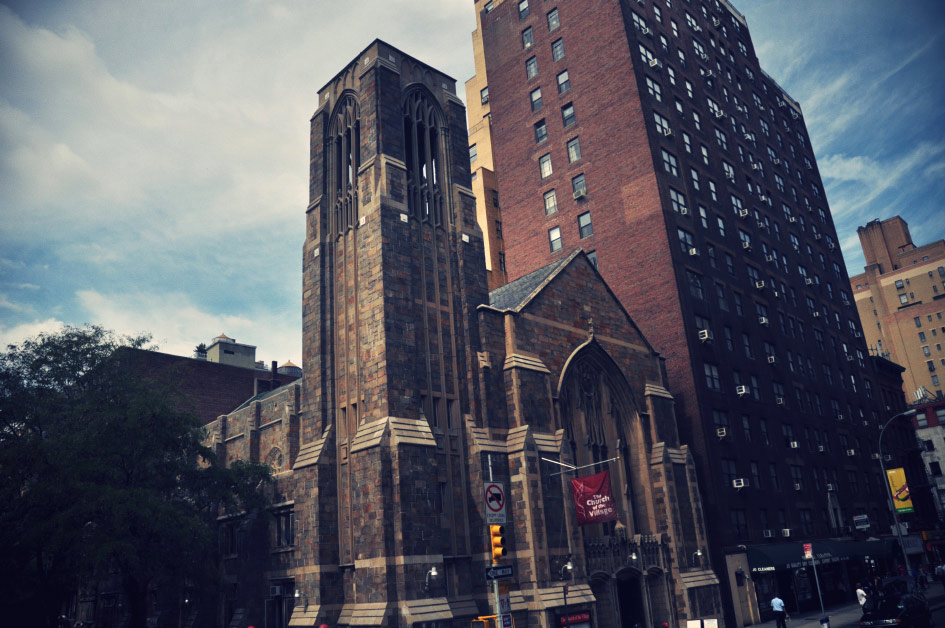 Artist Danny Roberts Photo of a New York Church