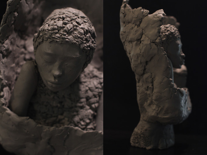 Profile Photo of Artist Danny Roberts sculpture of Lee Alexander McQueen winter fall 2009