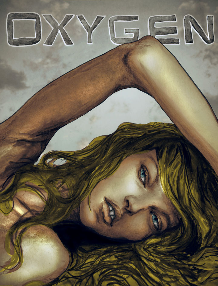 "Concept Painting by Fashion Artist Danny Roberts for a Cover of Oxygen Magazine"" title=""Concept Painting by Fashion Artist Danny Roberts for a Cover of Oxygen Magazine"