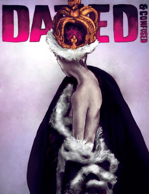 This is Artist Danny Roberts Cover Version for London Based Dazed and Confused Magazine Cover Version Contest