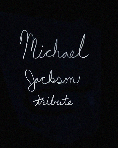 Muchael Jackson Tribute Text