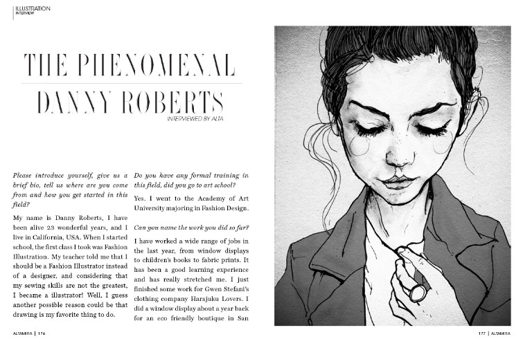 Danny roberts interview with altamira magazine