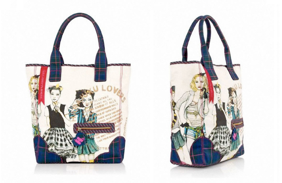 Part 1 of my Collaboration With Harajuku Lovers Mad for Plaid Precious Tote