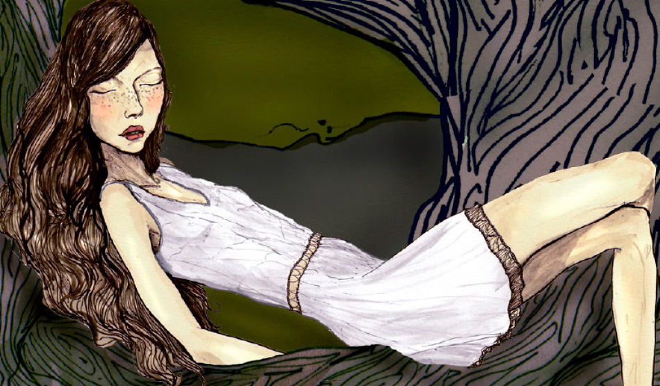 A still frame of a girl from igorandandre dior animation