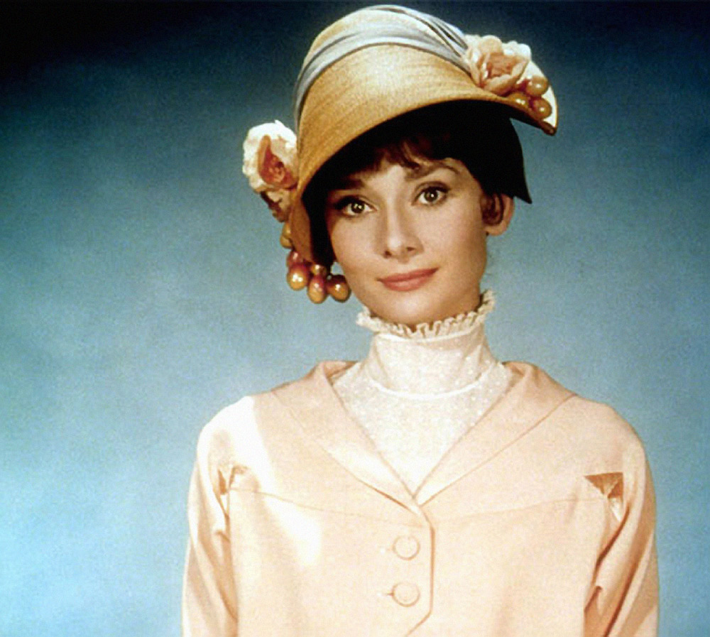 A photo of audrey hepburn in my fair lady