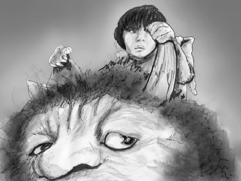 Artist Danny Roberts Sketch Based on the movie where the wild things are